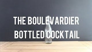 Diy Boulevardier Bottled Cocktail With Wild Turkey Campari Cizano No