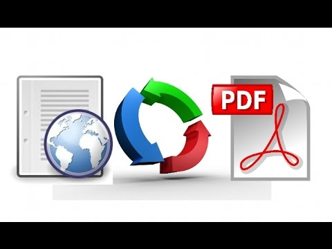 How to save a webpage as a pdf in chrome and firefox