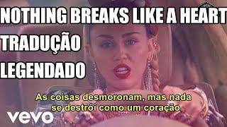 Mark Ronson ft. Miley Cyrus - Nothing Breaks Like a Heart (Tradução/Legendado) (PT-BR)