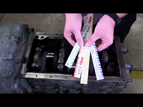 How to use Plastiguage to Determine Main Bearing Clearance