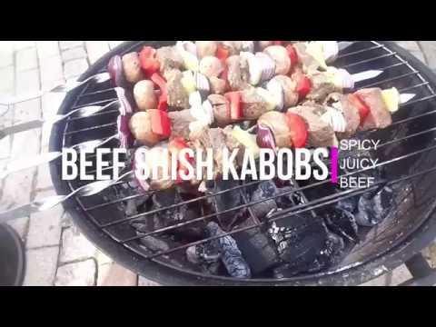 Beef Shish Kabobs: Spicy,Juicy Beef