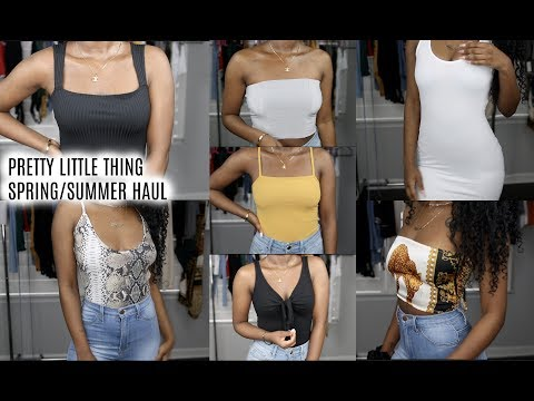 Spring/Summer Pretty Little Thing Try On Haul