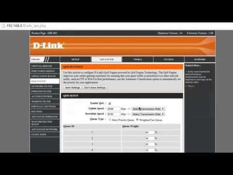 How to control internet speed using WiFi Dlink Router DIR -803 QOS Engine easily? Sandeep Maheshwari