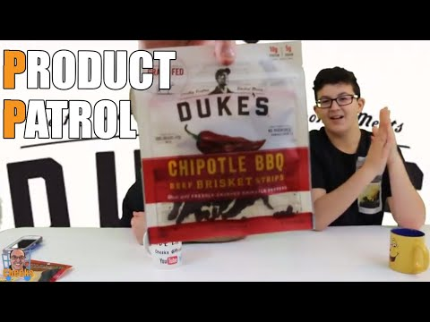 Dukes Beef Jerky Review: Chipotle BBQ Beef Brisket Strips