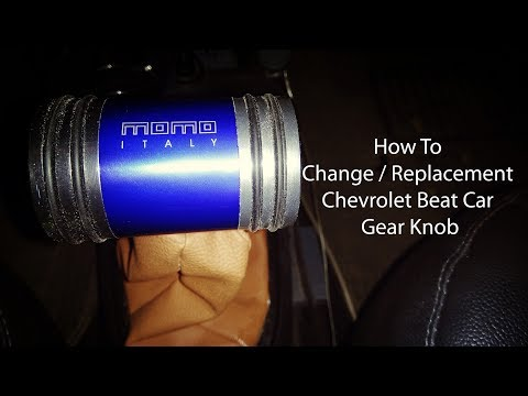 How To Change or Replacement Chevrolet Beat Car Gear Knob