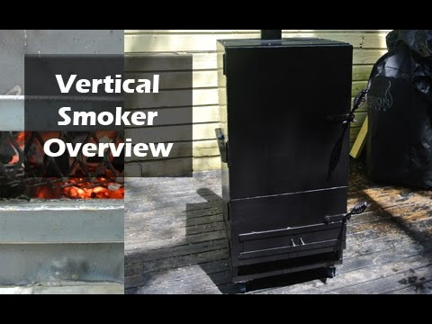 How to Build a BBQ Smoker Completed - Final Video - Part 5 (5)