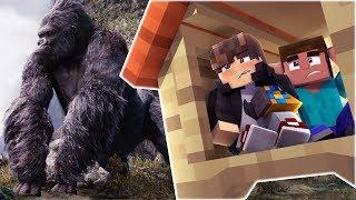 Minecraft: DESAFIO DA BASE 100% SEGURA CONTRA KINGKONG ‹ JUAUM ›