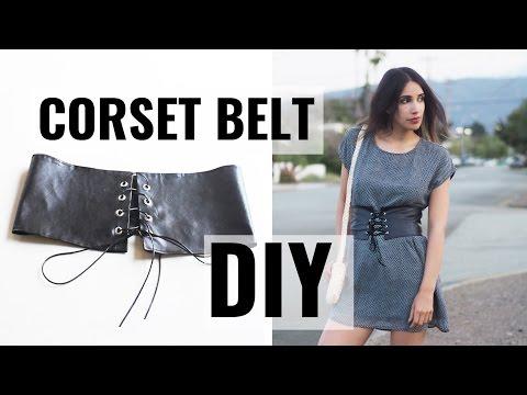DIY - CORSET BELT