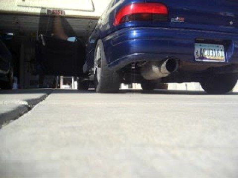 2.5RS with Greddy EVO2 catback