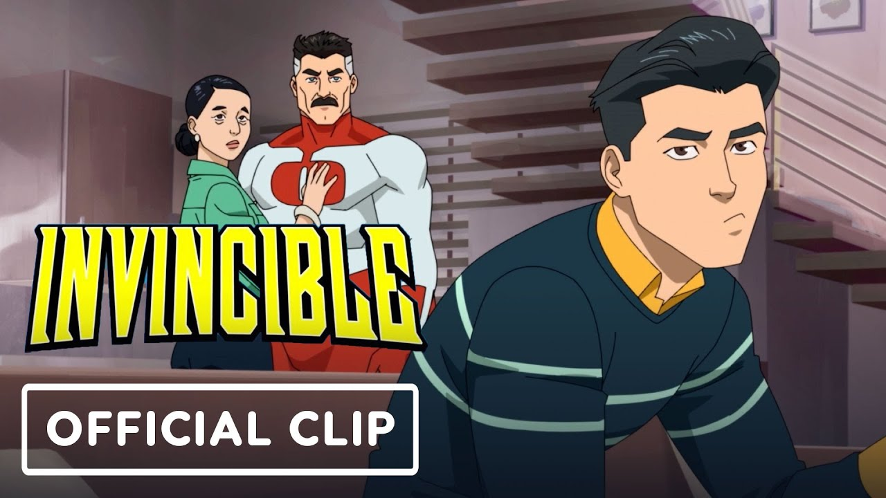 Amazon Prime Video's Invincible - Exclusive Official Clip | IGN Fan Fest 2021