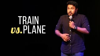 Train vs. Plane - Abish Mathew Stand Up Comedy