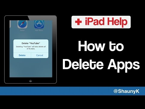iPad Help - How to Delete Apps from your iPad