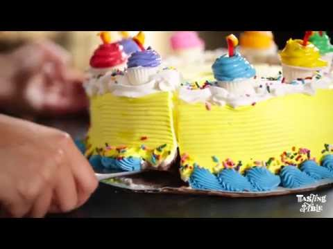 This is How to Cut an Ice Cream Cake | Need to Know | Tasting Table