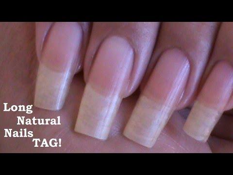 Long Natural Nails! TAG! ( Love4Nails )