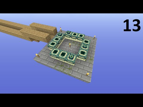 Minecraft Xbox One - Skyblock - The End Portal! (13 )