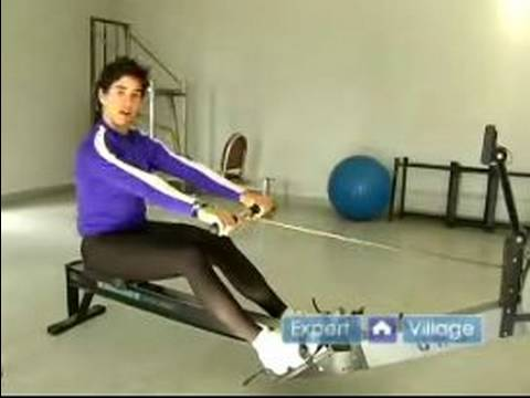 Rowing Machine Exercises : 4: Parts of a Rowing Stroke Exercise on a Rowing Machine