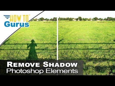 Photoshop Elements Beginner Basics Content Aware Fill Remove Shadows 2018 15 14 13 Tutorial