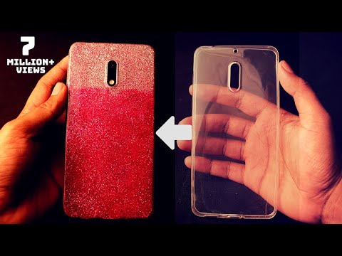 Multi Color Mobile Cover Decoration | DIY Phone Case Design