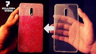 Multi Color Mobile Cover Decoration | DIY Phone Case Design