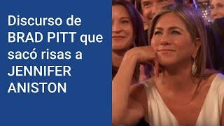 Discurso SUBTITULADO: Brad PITT en los SAQ AWARDS con subtítulos en español