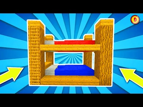 ✓ Minecraft Console Edition - How to Make  A BunkBed  (Ps3/Xbox360/PS4/XboxOne/WiiU)