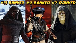 Ranking Every Star Wars Battlefront 2 Hero And Villain From Worst To Best!