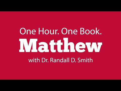 One Hour. One Book: Matthew