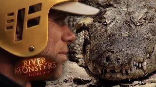 Mean Mugger Crocodile - River Monsters
