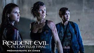 RESIDENT EVIL: EL CAPÍTULO FINAL. Tráiler oficial en español HD. Ya en cines.