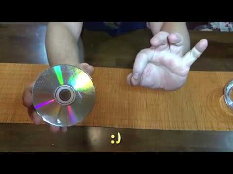 how to fix a scratched CD DVD easy at home