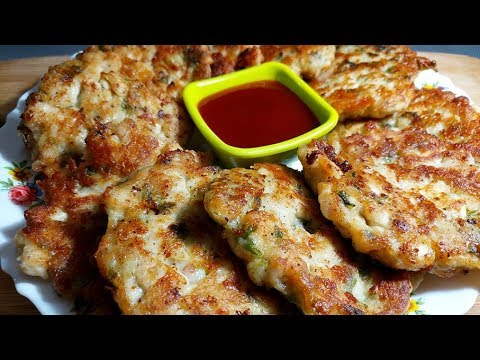 Instant Chicken Pancakes /Cheesey chicken fritters/ Easy And Quick Snack Recipe