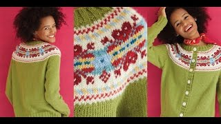 24 Icelandic-Style Pullover, Vogue Knitting Holiday 2014