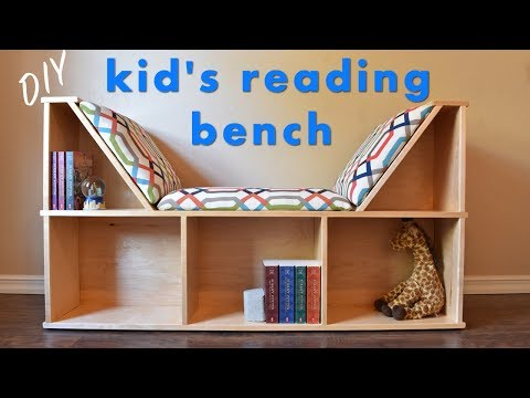 How To Build a Kid's Reading Nook W/ No Sew Cushions