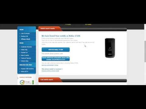 How to check product code and network of Nokia for free