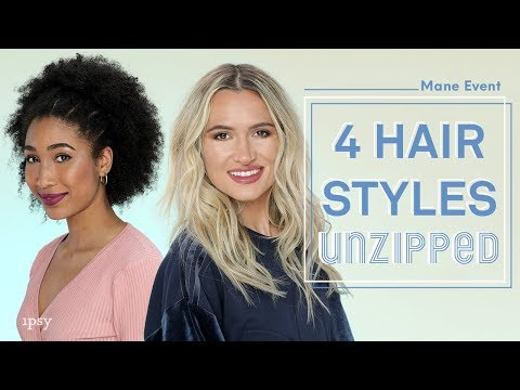 Hairstyles for Different Hair Types #ipsyunzipped   ipsy Mane Event