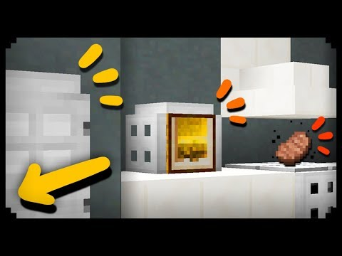 ✔ Minecraft: How to make a Working Kitchen