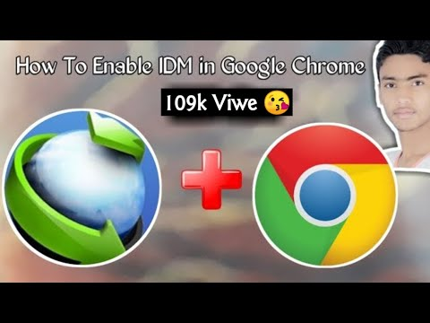 How To Add IDM (internet download manager) Extension To Google Chrome