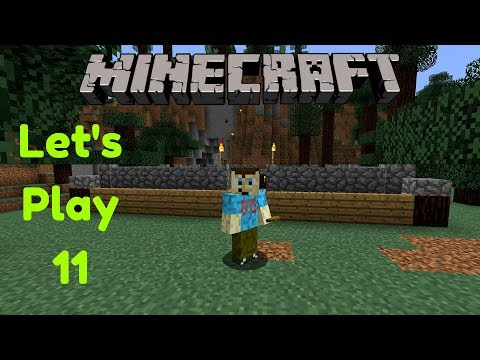 Minecraft Let's Play Part 11   Finding Sugarcane and Building a Chicken Coop