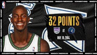 2004 WCSF Game 7   Sacramento Kings @ Minnesota Timberwolves   May 19, 2004   #NBATogetherLive