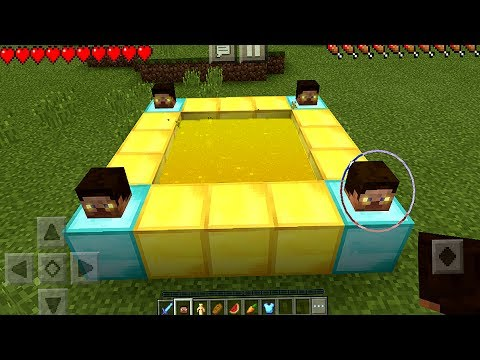 How to Make a GOD Portal in Minecraft Pocket Edition