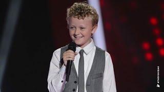 Reilly Sings Grenade   The Voice Kids Australia 2014