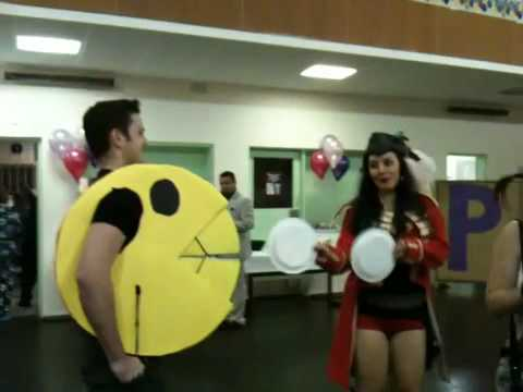 Adrian's AWESOME PacMan costume