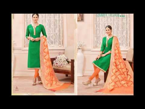 Buy Kanchipuram silks || Fancy Dresses || Surat textile bazaar