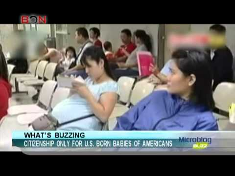 Citizenship only for U.S. born babies of Americans-Microblog Buzz-July 03,2013 - BONTV China