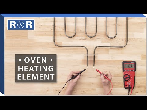 Oven Heating Element - Continuity Test