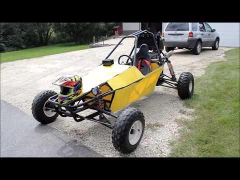 1990 GSXF 750cc Go Kart - Shifter Kart - Dune Buggy - Go Kart With Motorcycle Engine