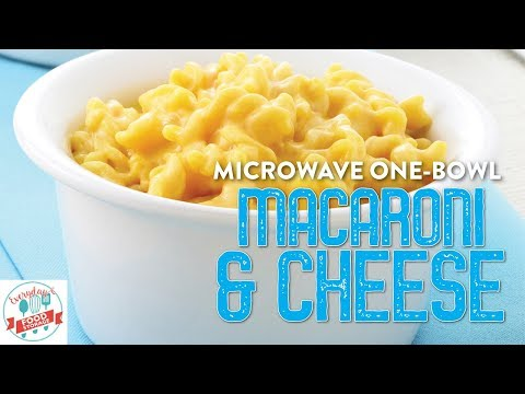 How to make One-bowl, Microwave Macaroni and Cheese with Food Storage