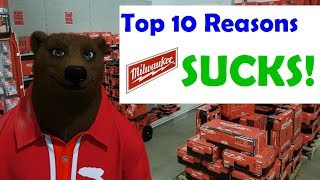 Download Top 10 Reasons Milwaukee Tools Suck! Now with 50% MORE Hateraid! Video