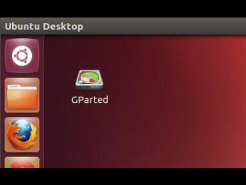 Ubuntu 12.04 - Creating Desktop Shortcut for GParted Partition Editor