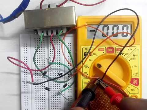 How to convert 110v / 120v / 220v / 230 Volts AC to 9 volt DC | 9v DC regulated power supply